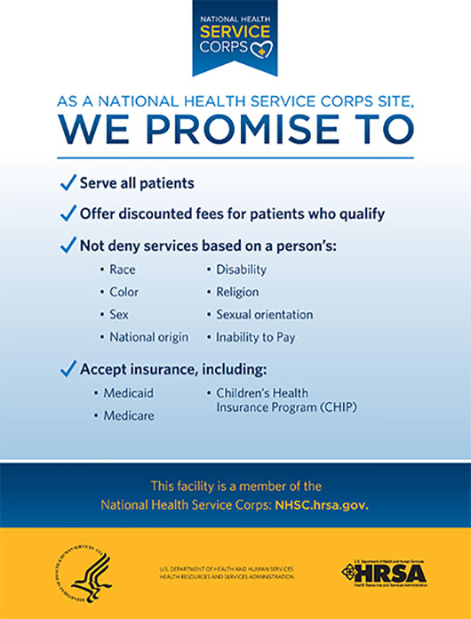 NHSC 2014 Site Welcome Kit